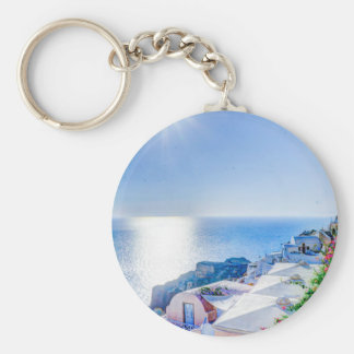 oia-417822 oia santorini summer greece island sea keychain