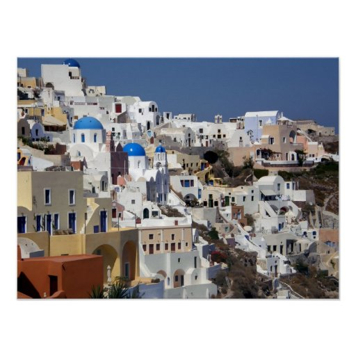 Oia, Greece poster