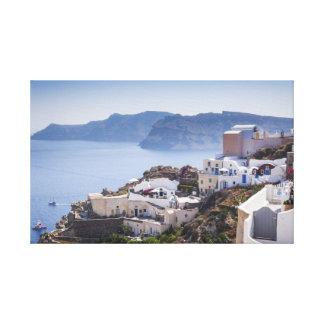 Oia Santorini Greece Canvas Print