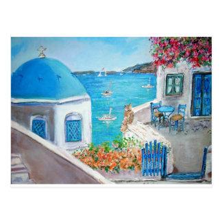 Oia View - Postcard