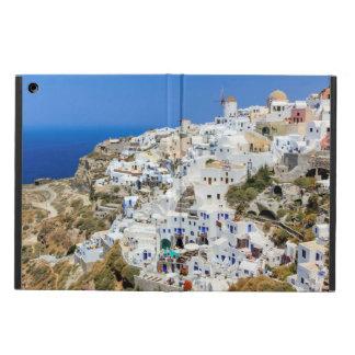 Oia village on Santorini island, north, Greece iPad Air Cover
