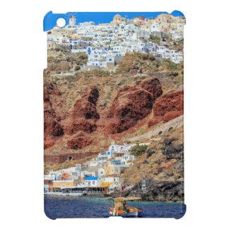 Oia village on Santorini island, north, Greece iPad Mini Cases