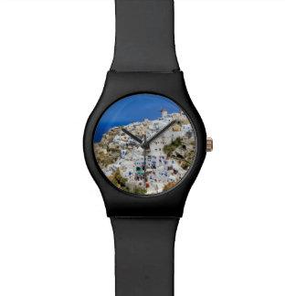 Oia village on Santorini island, north, Greece Wristwatches