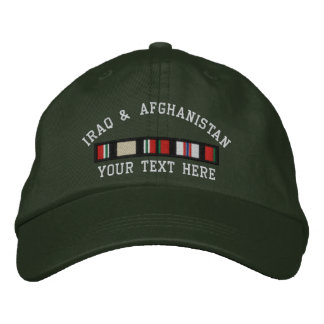 OIF and OEF Embroidered Baseball Cap