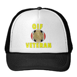 OIF Medal Hat