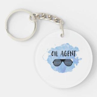 Oil Agent Key Ring