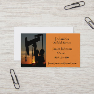 Oil and gas business cards zazzle au oil and gas industry business cards reheart Image collections