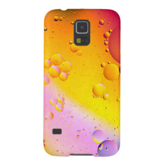Oil and Water on a Coloured background Galaxy S5 Cover
