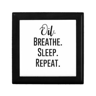 oil breathe sleep repeat - Essential Oil Product Gift Box