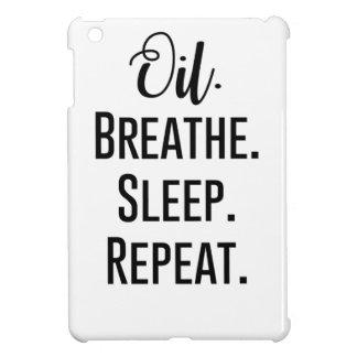 oil breathe sleep repeat - Essential Oil Product iPad Mini Covers
