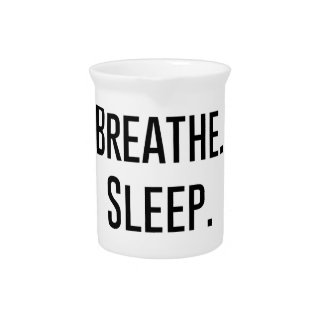 oil breathe sleep repeat - Essential Oil Product Pitcher