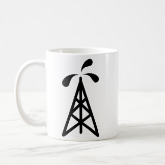 Oil Derrick Coffee Mug