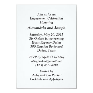 Oil Derrick Wedding | Engagement Party Invitation