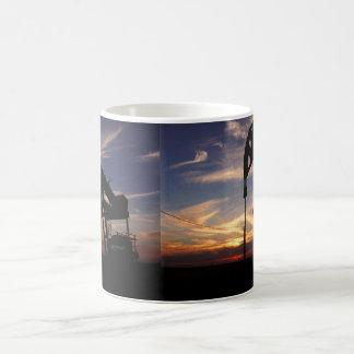 OIL FIELD SUNSET COFFEE MUG