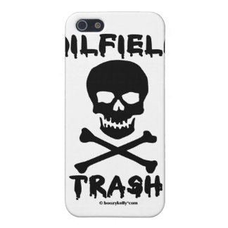 Oil Field Trash,Skull & Crossbones,iPhone Case iPhone 5 Cover
