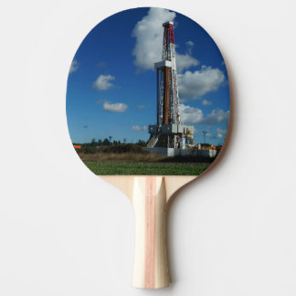 Oil Gas Rig Drilling Custom Ping Pong Paddle