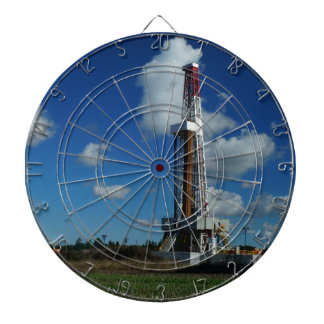 Oil Gas Rig Drilling Dart Board