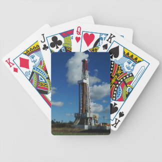 Oil Gas Rig Drilling Playing Cards