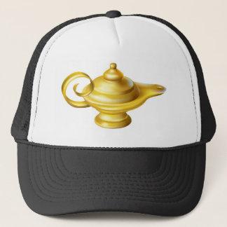 Oil Lamp Trucker Hat
