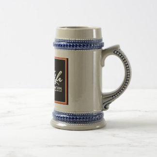 OIL LIFE Original Copyright Beer Stein