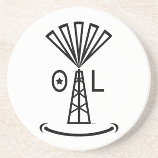 Oil Makes Me Smile Coaster