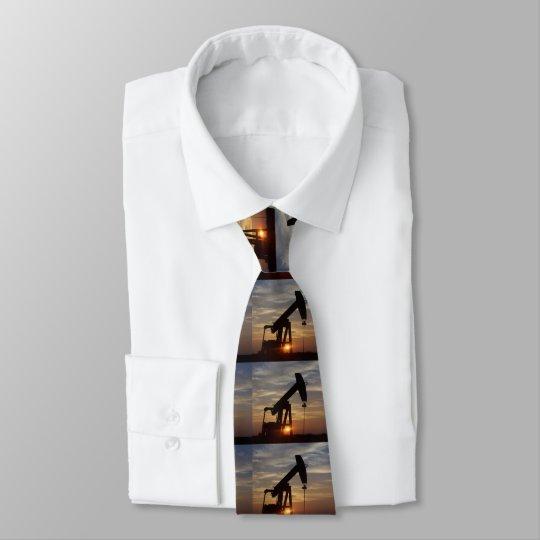 Oil man tie