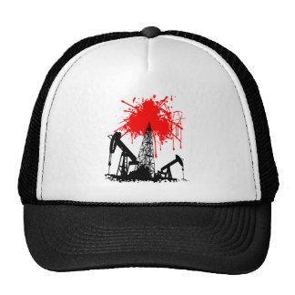 Oil of blood mesh hat