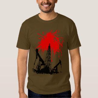 Oil of blood shirt