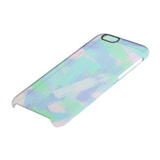 oil paint texture clear iPhone 6/6S case