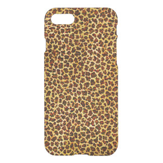 Oil Painting Look Leopard Spots iPhone 7 Case