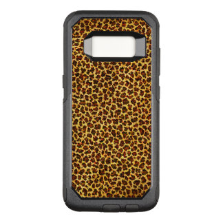 Oil Painting Look Leopard Spots OtterBox Commuter Samsung Galaxy S8 Case