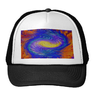 oil painting modern abstract paintings office home trucker hat
