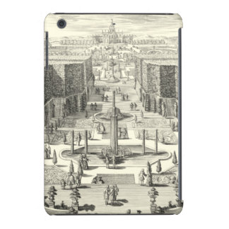 Oil Painting of Fountains at Garden of Versailles iPad Mini Retina Covers