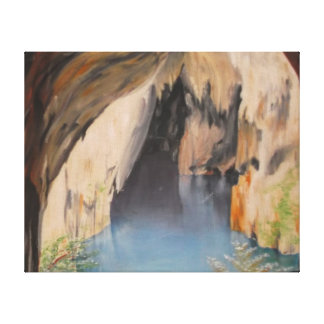 Oil painting on canvas Sinoia caves Stretched Canvas Prints