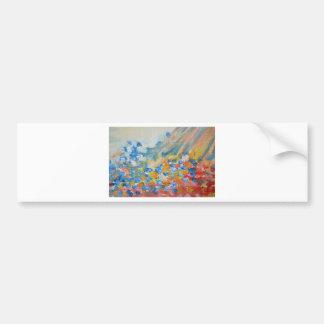 oil-paints bumper sticker