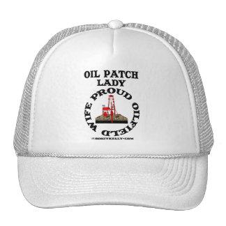 Oil Patch Lady,Proud Oil Field Wife,Cap,Hat,Oil
