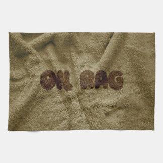 Oil Rag Not a Tea Towel