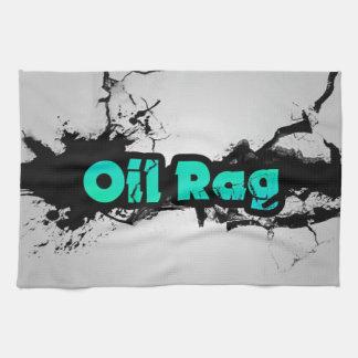 Oil Rag Tea Towel