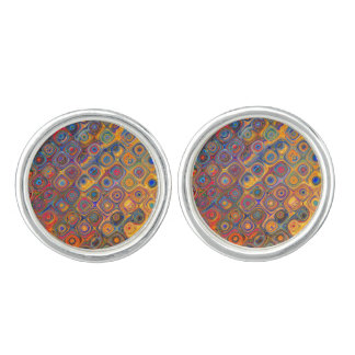 Oil Rainbow Cufflinks