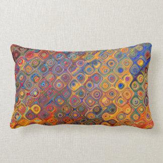 Oil Rainbow Lumbar Cushion