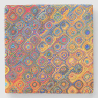 Oil Rainbow Stone Coaster