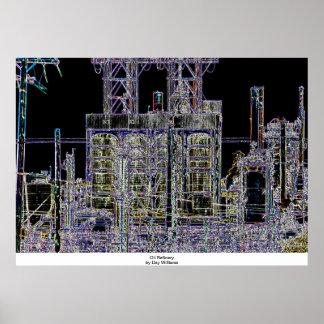Oil Refinery Print