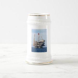 Oil Rig Beer Stein