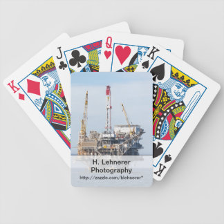 Oil Rig Bicycle Playing Cards