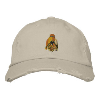 Oil Rig Drilling Bit Embroidered Baseball Caps