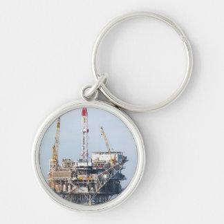 Oil Rig Key Ring