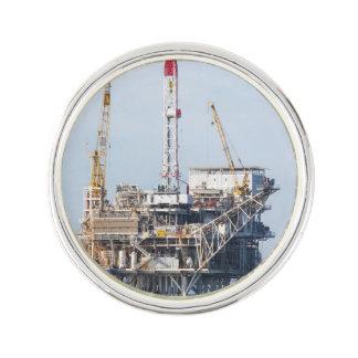 Oil Rig Lapel Pin