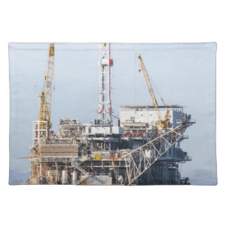 Oil Rig Placemat