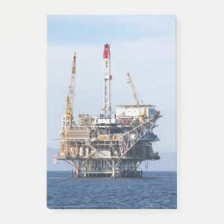 Oil Rig Post-it Notes