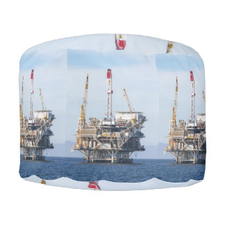 Oil Rig Pouf